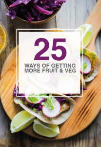 """FREE """"25 Ways To Eat More Fruit and Veg"""" eBOOK"""