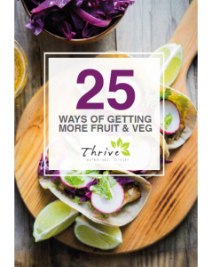 FREE eBook:25 Ways To Eat More Fruit and Veg