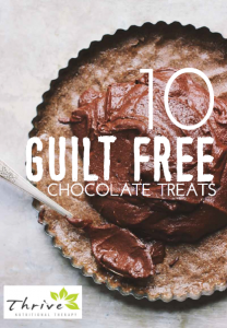 FREE eBook: 10 Guilt Free Chocolate Treats